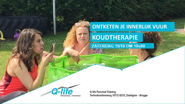 Workshop koudetherapie