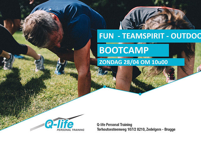 Outdoor Bootcamp 28 April  @ Tilleghembos