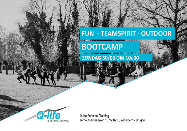 Outdoor Bootcamp 30 juni  @ de Vesten